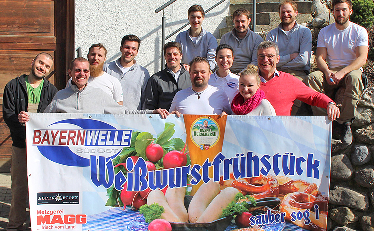 Bayernwelle Weißwurstfrühstück 06 April 2018 in Chieming