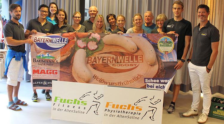 Bayernwelle Weißwurstfrühstück 06 Juli 2018 Bad Reichenhall