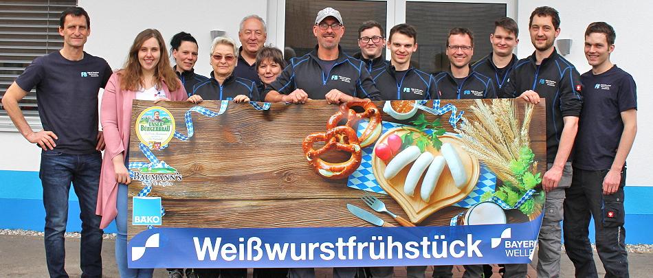 Bayernwelle Weißwurstfrühstück 06 März 2020 Bischofswiesen