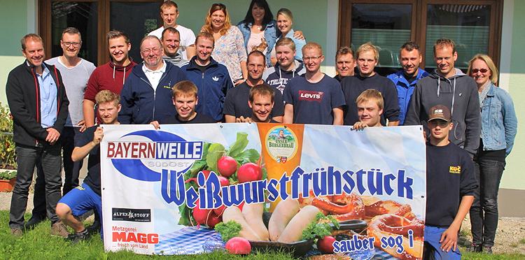 Bayernwelle Weißwurstfrühstück 08. September 2017 in Anger