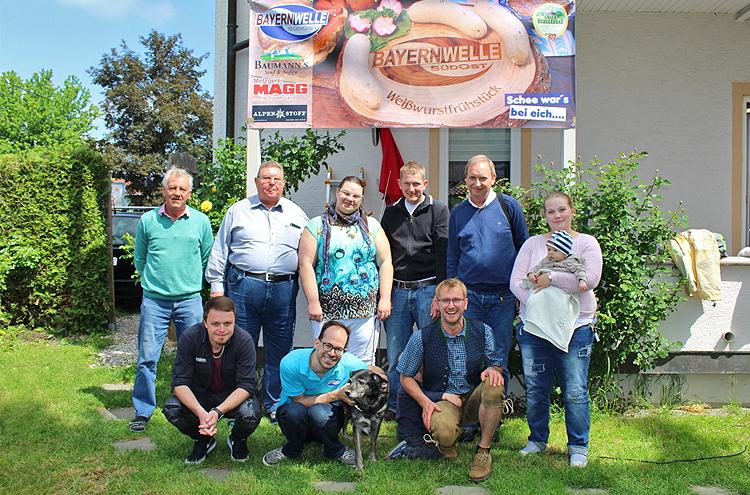 Bayernwelle Weißwurstfrühstück 11 Mai 2018 in Laufen