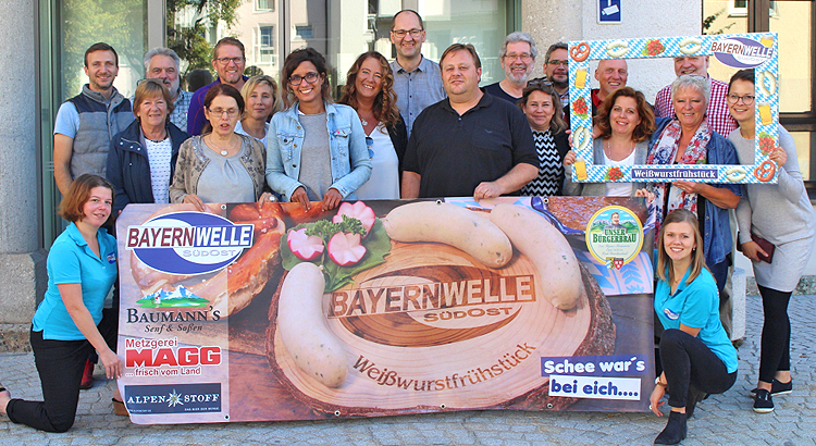 Bayernwelle Weißwurstfrühstück 12 Oktober 2018 Landratsamt