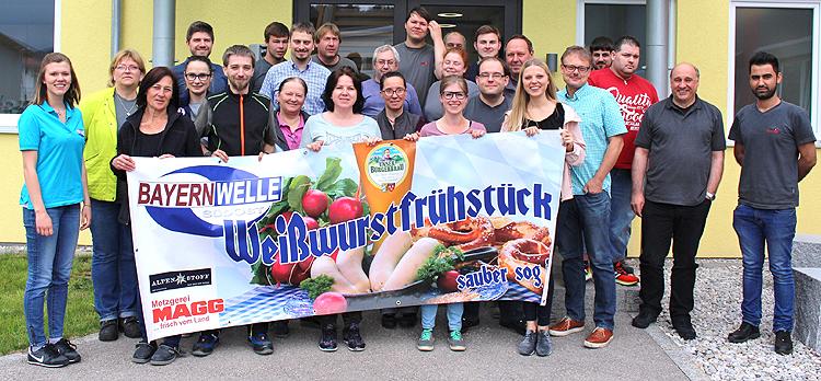 Bayernwelle Weißwurstfrühstück WWF 13 April 2018