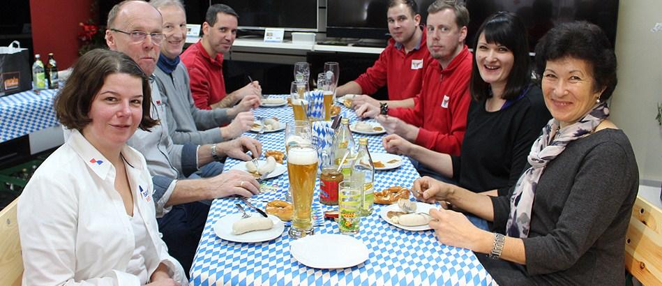 Bayernwelle Weißwurstfrühstück 13 Dezember 2019 in Traunstein