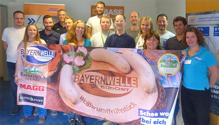 Bayernwelle Weißwurstfrühstück 14 September 2018 bei BASF
