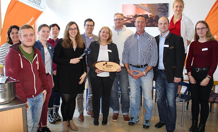 Bayernwelle Weißwurstfrühstück 15 Februar 2019 Schön Klinik Schönau
