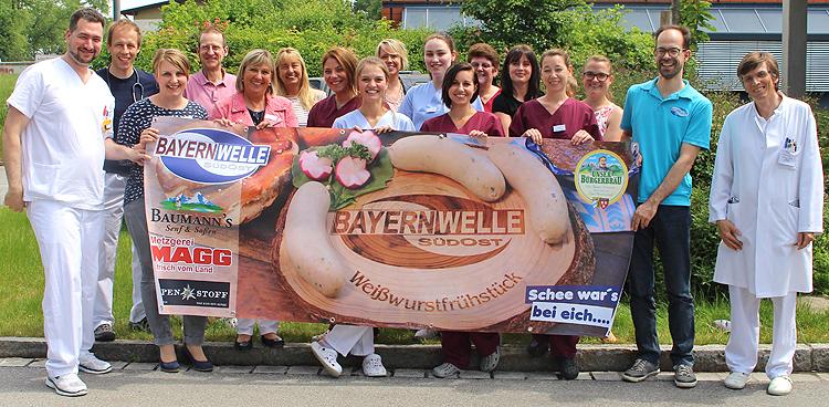 Bayernwelle Weißwurstfrühstück 18 Mai 2018 in Trostberg
