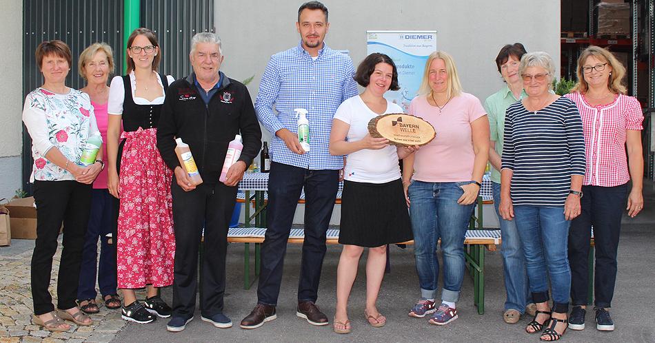 Bayernwelle Weißwurstfrühstück 19 Juli 2019 in Traunstein