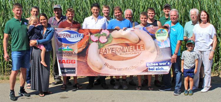 Bayernwelle Weißwurstfrühstück 20 Juli 2018 in Attenberg