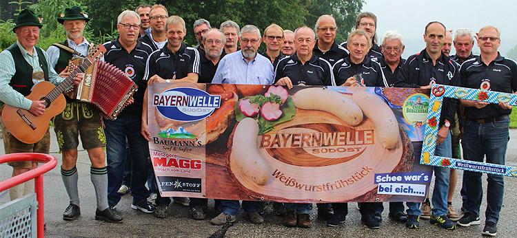 Bayernwelle Weißwurstfrühstück 29 Juni 2018 beim SV Oberfeldkirchen