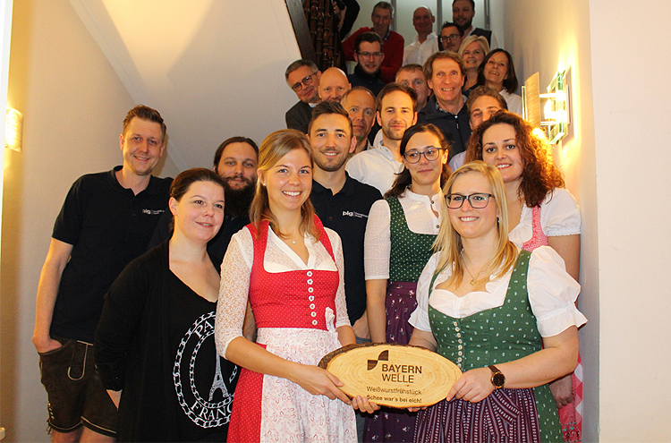 Bayernwelle Weißwurstfrühstück 22 Februar 2019 Traunstein