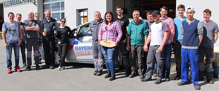 Bayernwelle Weißwurstfrühstück 22 März 2019 in Freilassing