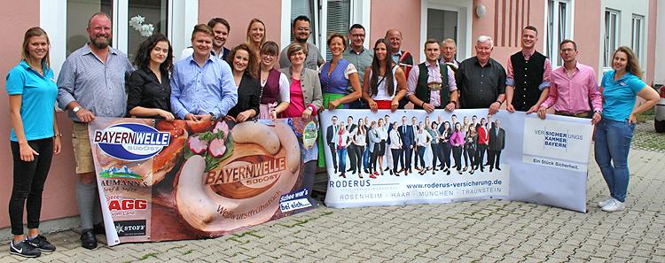 Bayernwelle Weißwurstfrühstück 24 August 2018 in Traunstein