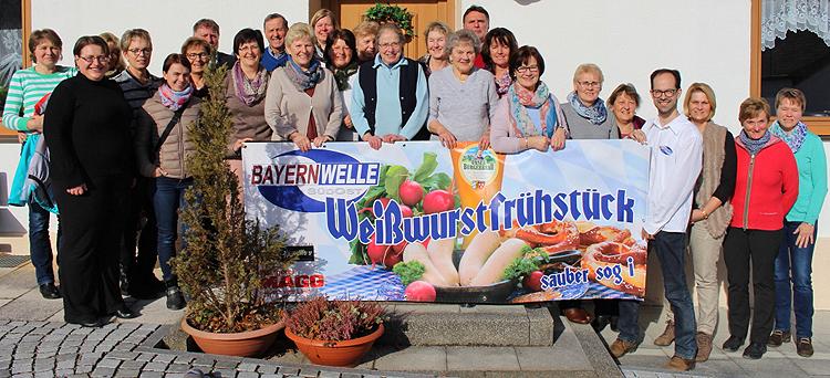 Bayernwelle Weißwurstfrühstück 26 Januar 2018 in Anger
