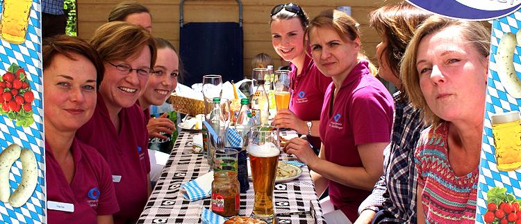 Bayernwelle Weißwurstfrühstück 26 Mai 2017 bei der Augenarzt-Praxis Dr. Dillinger in Traunstein
