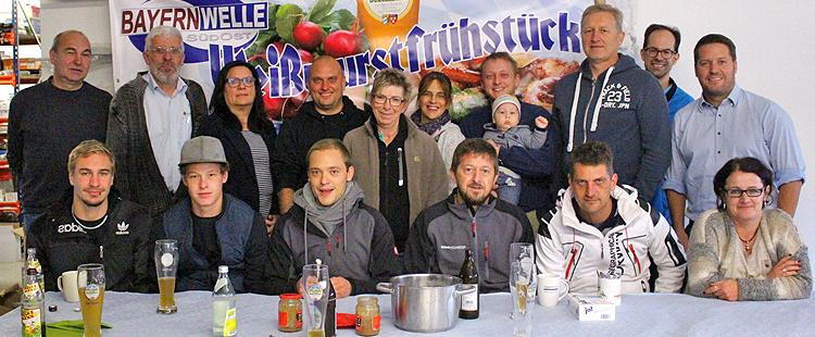 Bayernwelle Weißwurstfrühstück 27. Oktober 2017 in Obing