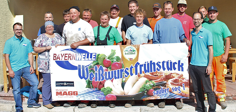 Bayernwelle Weißwurstfrühstück 29. September 2017 in Schönau am Königssee