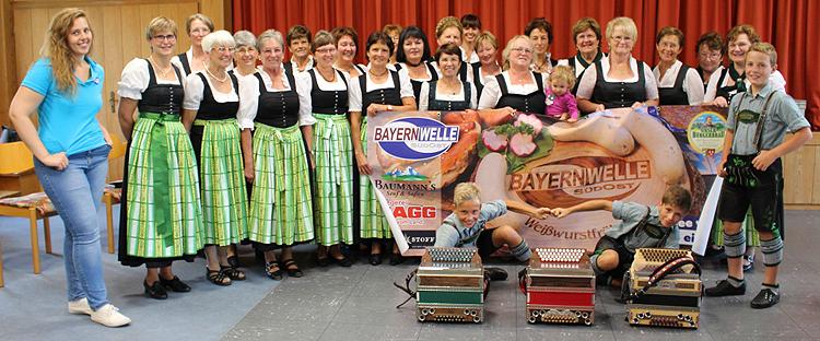 Bayernwelle Weißwurstfrühstück 31 August 2018 in Teisendorf