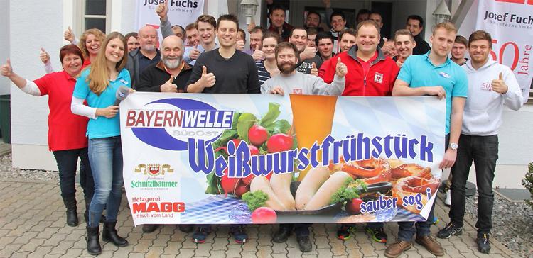 Weißwurstfrühstück Firma Fuchs Teisendorf