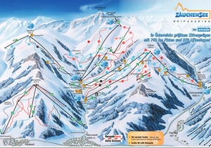 Skigebiet Zauchensee
